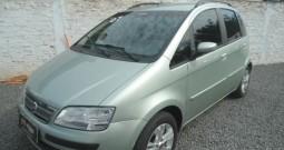 FIAT IDEA 1.4 MPI ELX 8V / 2007 / VERDE